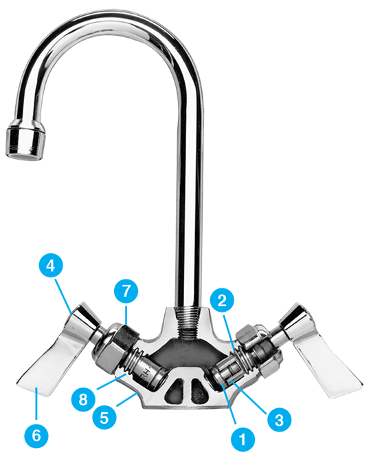 Fisher 67857 SS FAUCET SBSWH 16SS07DJ
