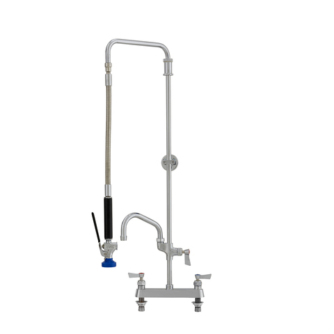 Lever Handle 10 Swing Spout Add-On Faucet and Elbow andwith Ultra Spray Valve Add-On Faucet Fisher 55441 Brass 8 Backsplash Spring Style Pre-Rinse Unit with Ultra Spray Valve